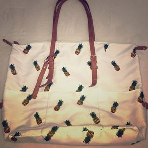 Forever 21 Pineapple Tote